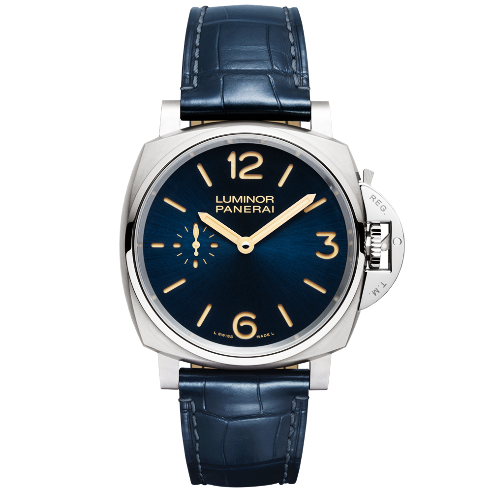 officine-panerai-luminor-due-3-days-titanio-blue-dial-leather-strap-watch