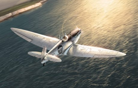 The Silver Spitfire, illustration