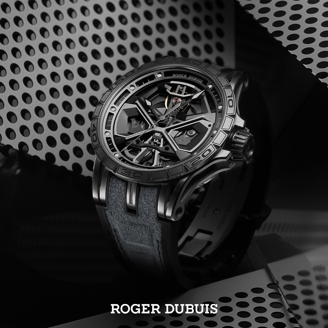 Roger Dubuis Excalibur Huracan White white SQUARED