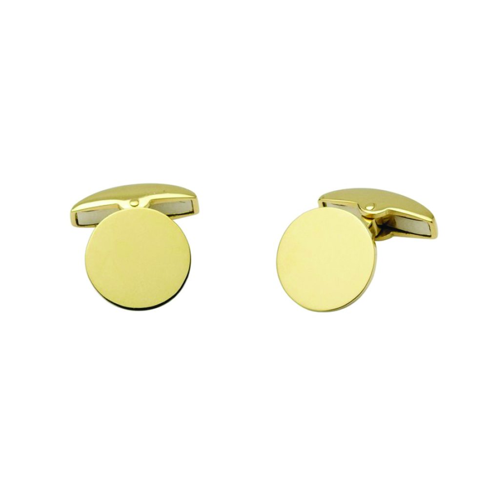 Cufflinks, 18ct gold